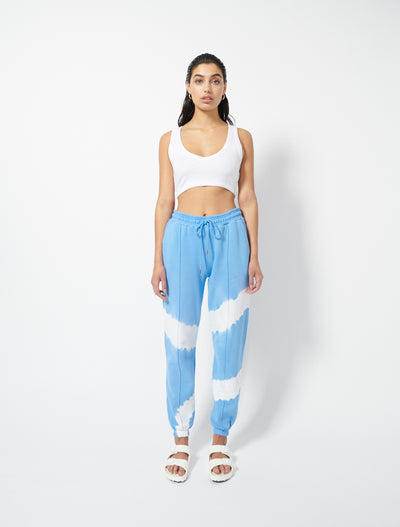 Organic Cotton Circle Tie Dye Sweatpants