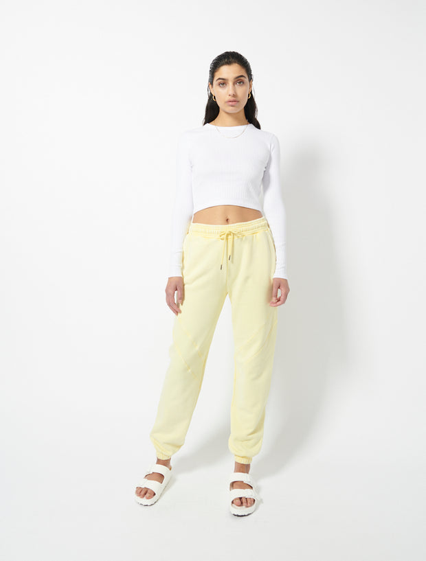 Organic Cotton Loopback Garment Dye Sweatpants
