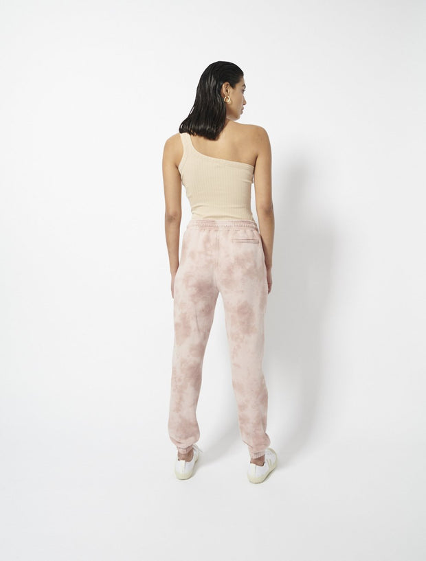 Organic Cotton Loopback All Over Tie Dye Boyfit Sweatpants
