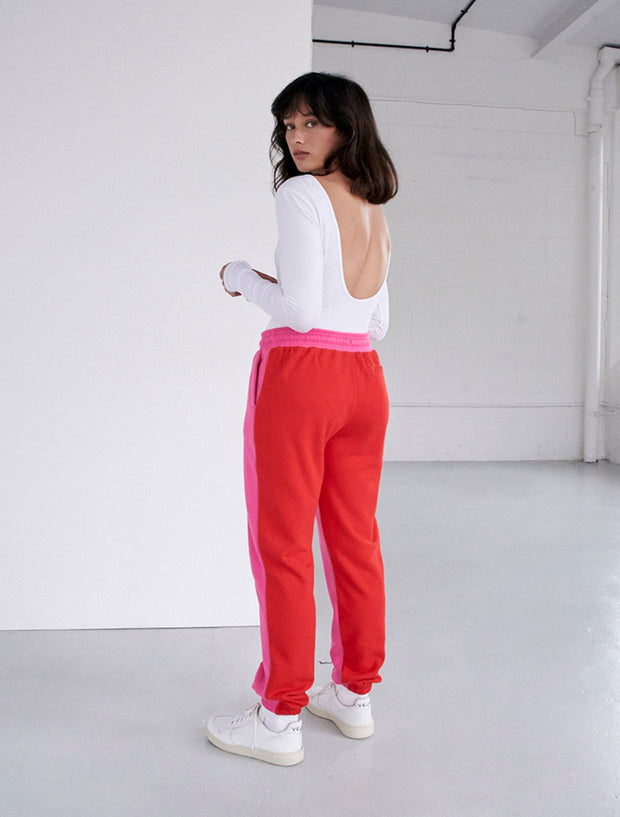 Waste Not Organic Cotton Loopback Boyfit Sweatpants