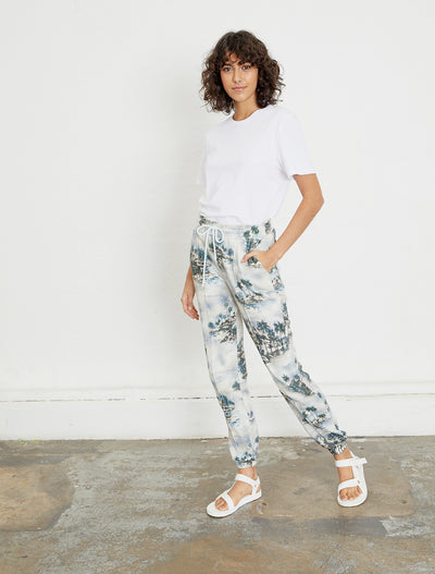 Women's Organic cotton printed sweatpants