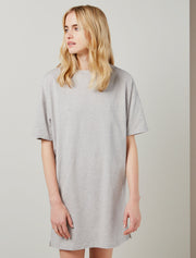 Organic cotton women's oversized T-shirt dress