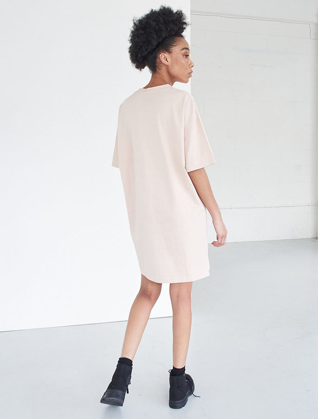 Organic cotton oversized T-shirt dress