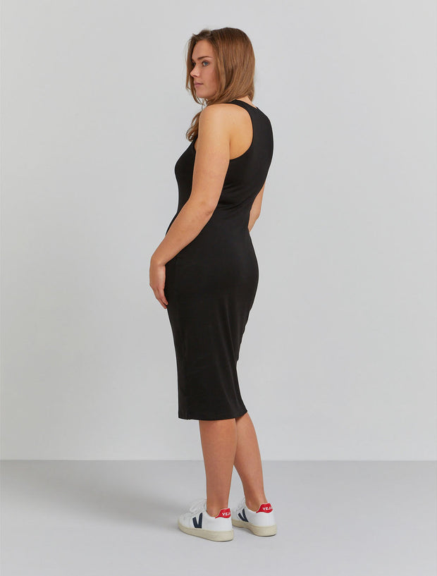Women's Tencel fitted racerback dress