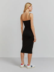 Women's Tencel fitted cami dress