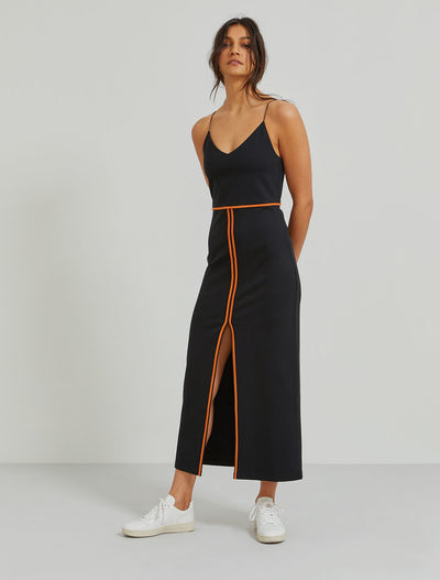 Eco-Viscose bound-seam cami dress