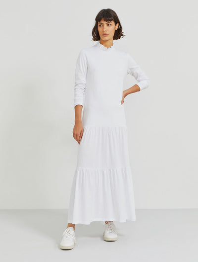 Organic cotton pie-crust dress