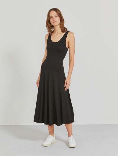 Women's Tencel jersey panelled tank dress