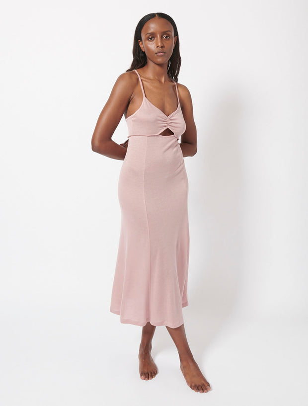 Brushed Tencel™ Midi Dress