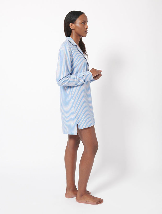 Organic Cotton Pyjama Shirt Dress