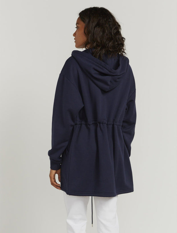 Organic Cotton Utility Sweat-Parka