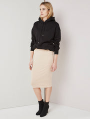 Women's Tencel fitted tube skirt