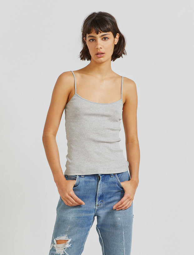 women's Organic cotton ribbed cami