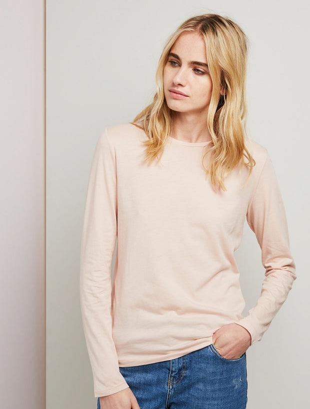 Women's Organic cotton classic fit long sleeve top