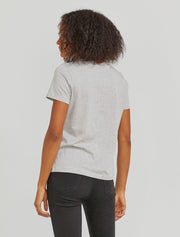 Women's Organic cotton classic fit grey T-shirt