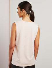 Women's Organic cotton boy fit vest