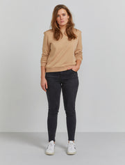 Organic cotton classic-fit sweatshirt
