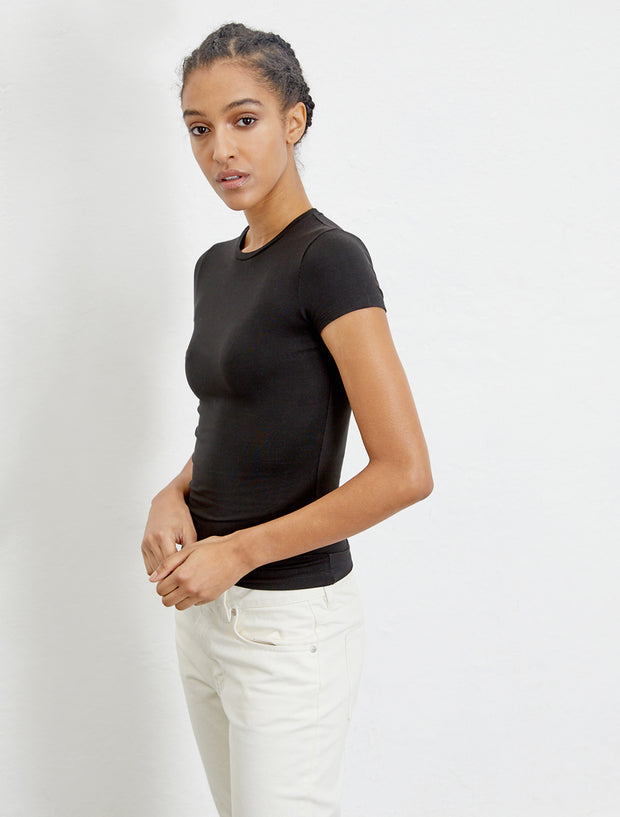 women's TENCEL fitted short-sleeve T-shirt