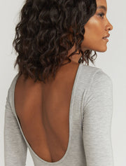 Women's Tencel Backless Bodysuit