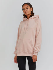 women's Organic cotton kanga pocket hoodie