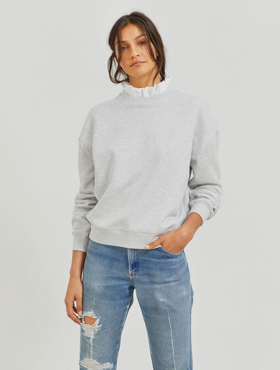organic cotton pie crust sweatshirt