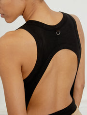 Women's Open back tencel body