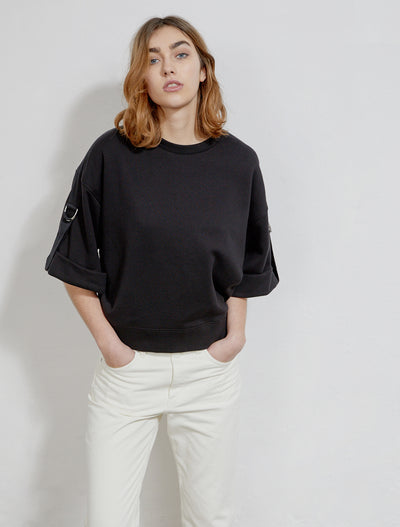 women's Organic cotton utility oversized sweatshirt