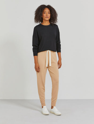 Women's Merino wool boyfit trackpant