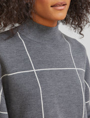 Women's Merino wool cropped jumper