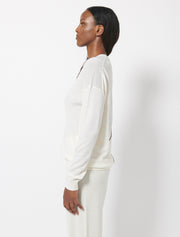 Extrafine Merino Oversize Crew Neck Sweater