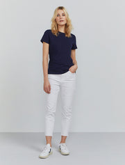 Women's Organic cotton classic fit navy T-shirt