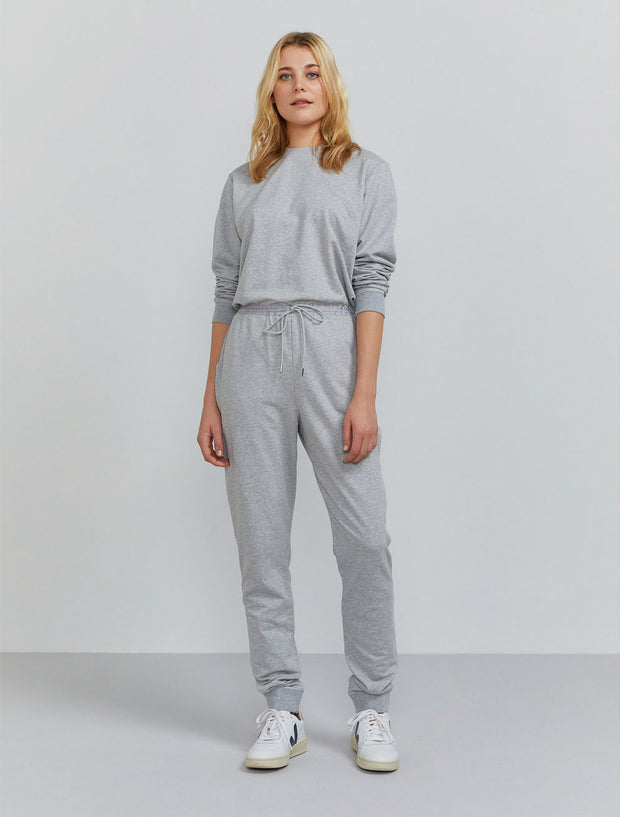 Women's Organic cotton zip-back jumpsuit