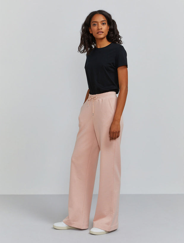 Women's Organic cotton wide-leg sweatpants