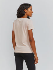 Women's Organic cotton classic fit V neck T shirt