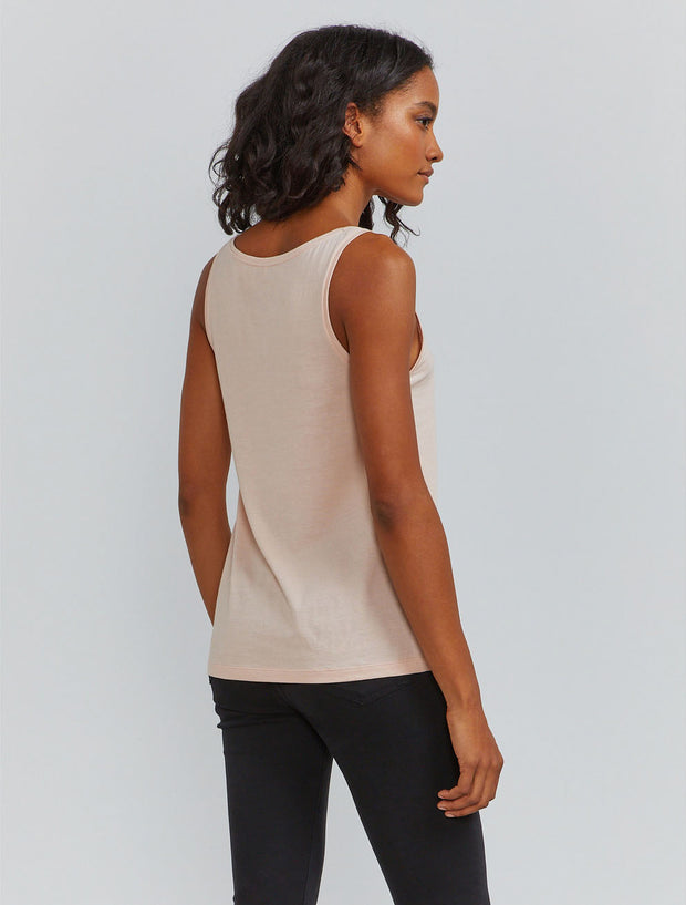 Women's Organic cotton classic fit scoop neck vest