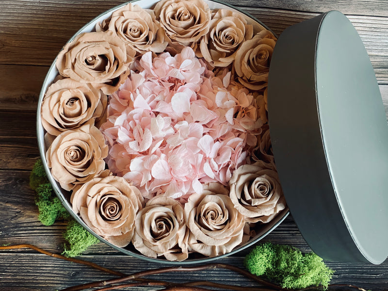 CAFFE LATTE FLORAL GIFT BOX