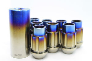 CPTi Open End Titanium Lugnuts