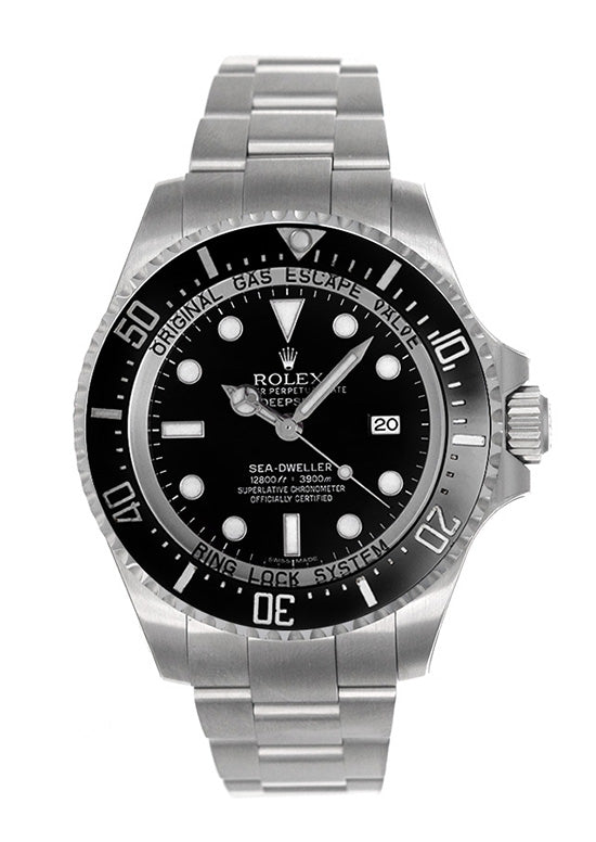 9ddc5f9e85f ROLEX DEEPSEA 116660 IN STAINLESS STEEL WATCH