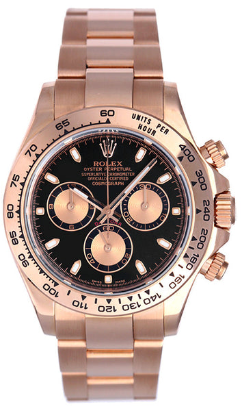 Rolex Daytona Pink Gold Unworn - New Edition - 2015 Model
