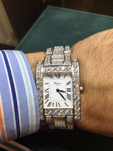 Chopard White Gold Bling Out Full of Diamonds - WOW