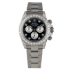 Rolex Daytona Stainless Steel 116520 Rainbow Face / Case with Diamonds