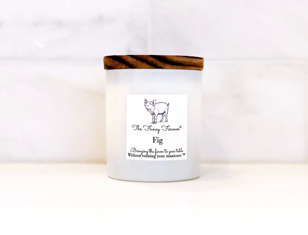 Fig Candle (10oz) - The Fancy Farmer