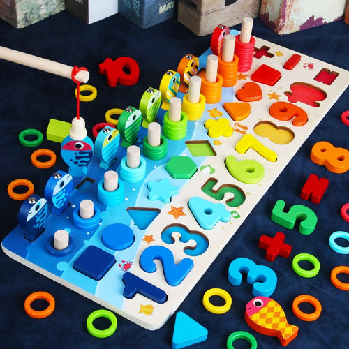 Wooden Toys Counting Board