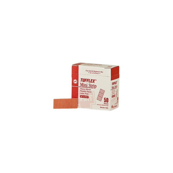 Tufflex 5/8 x 1-1/2 Mini Strip Bandage, 50 per box