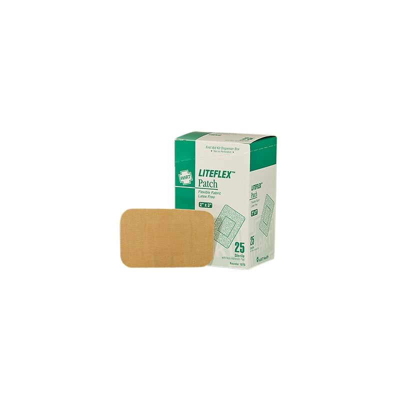 "2"" x 3"" Liteflex Patch Bandage, 25 per box"