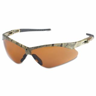 Nemesis AF Lens, Camo Frame Wraparound Safety Glass with Cord