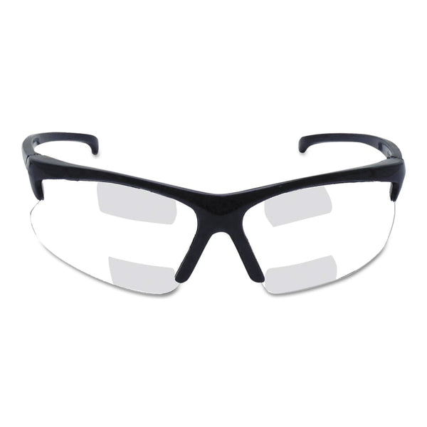 Clear Lens, Dual RX Safety Glasses, Power: 1.5 Mag
