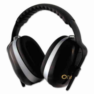 ONYX NRR 26 Black Headband Type Ear Muff