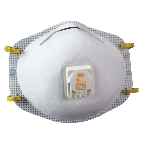 N95 Rated Disposable Particulate Respirator (Dust Mask),