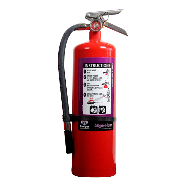 10# Extra High Flow BC Dry Chemical Stored Pressure Extinguisher with Wall Bracket (20B:C)